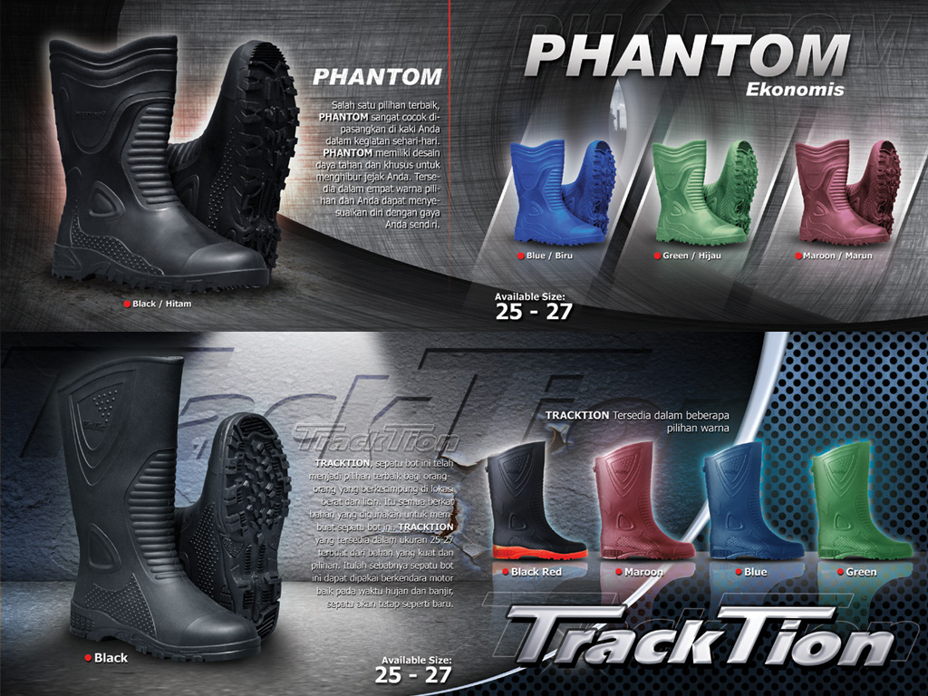 phantom tracktion Toyobo Boots